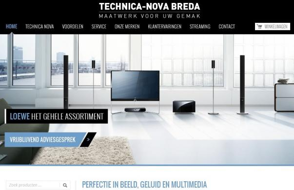 professionele website Technica Nova