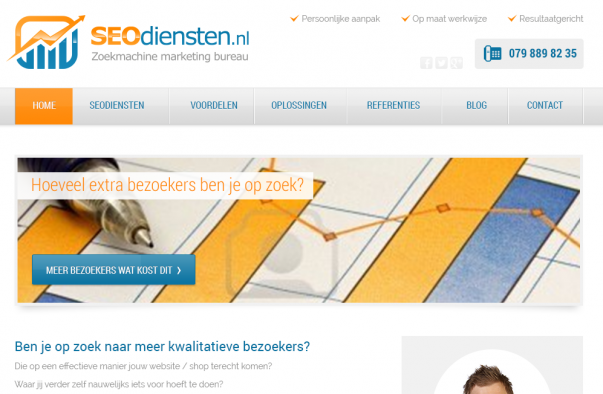 professionele website SEO diensten